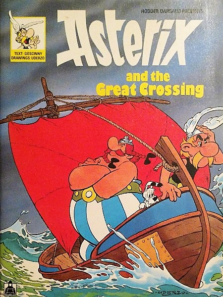 Capa: (Hodder Dargaud Presents) Asterix - and the Great Crossing 0