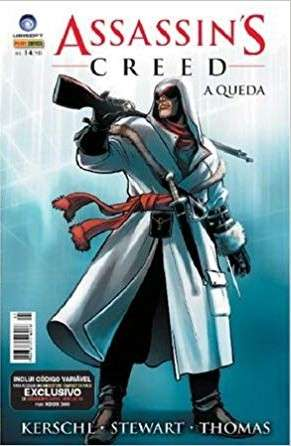 Capa: Assassin's Creed: A Queda (Panini) 1