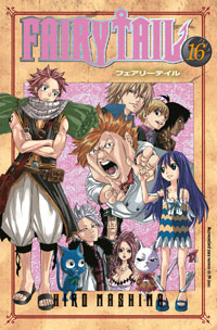 Capa: Fairy Tail 16