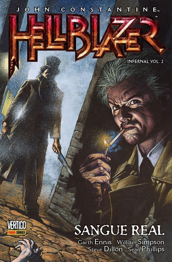 <span>John Constantine, Hellblazer: Infernal – Sangue Real 2</span>