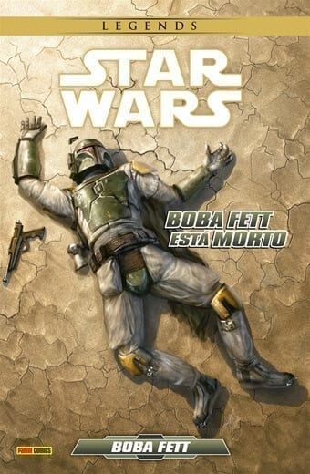 Capa: Star Wars Legends: Boba Fett Está Morto