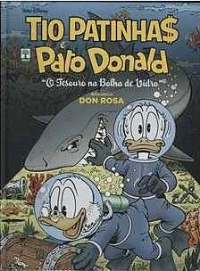 Capa: Biblioteca Don Rosa: Tio Patinhas e Pato Donald 3