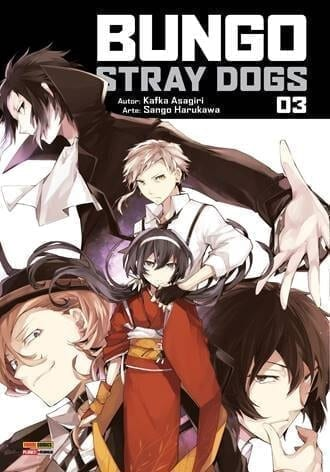 Capa: Bungo Stray Dogs 3