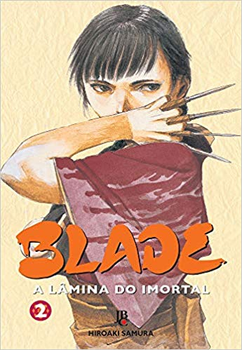Capa: Blade - A Lâmina do Imortal (JBC / Big) 2