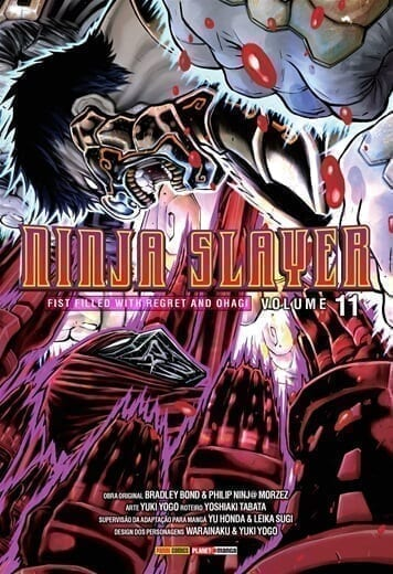 Capa: Ninja Slayer 11