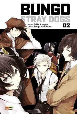 Capa: Bungo Stray Dogs 2