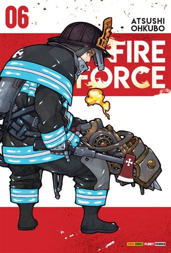 Capa: Fire Force 6