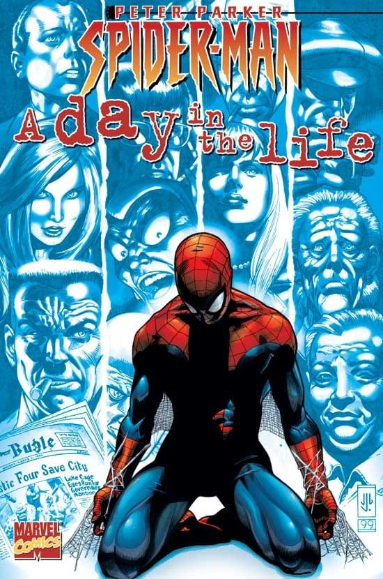 Capa: Peter Parker: Spider-Man (TP Importado) - A Day in the Life 1