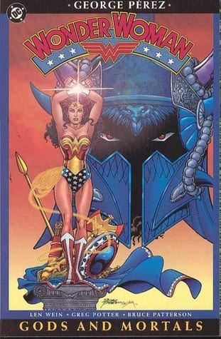 Capa: Wonder Woman: Gods and Mortals (TP Importado)  1