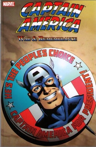 Capa: Captain America: War & Remembrance (TP Importado)
