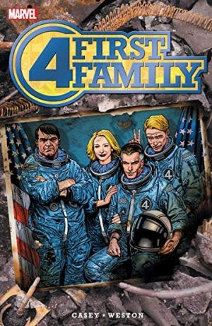 Capa: Fantastic Four: First Family (TP Importado)