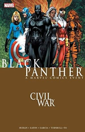 Capa: Civil War (TP Importado) - Black Panther 1