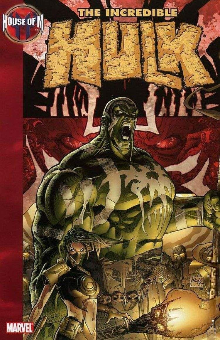 Capa: House of M (TP Importado) - The Incredible Hulk 3
