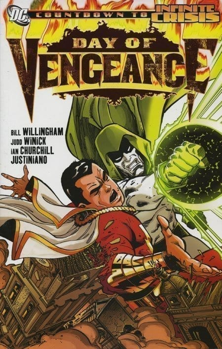 Capa: Day of Vengeance (TP Importado)