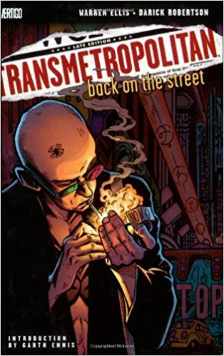 Capa: Transmetropolitan (TP Importado) - Back on the Street 1