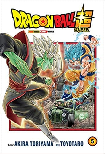 Capa: Dragon Ball Super 5