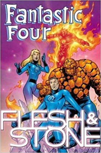 Capa: Fantastic Four: Flesh and Stone (TP Importado)