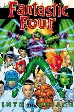 Capa: Fantastic Four: Into the Breach (TP Importado)