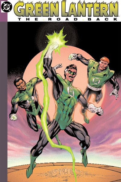 Capa: Green Lantern: The Road Back (TP Importado)