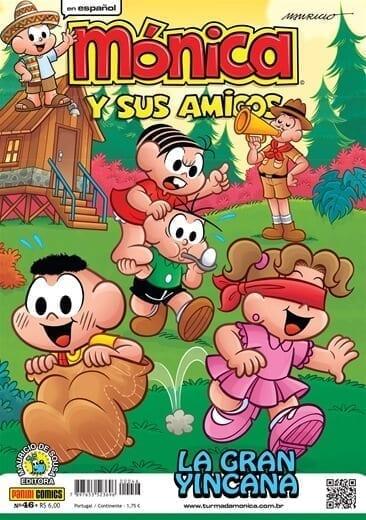 Capa: Mónica y sus Amigos 46