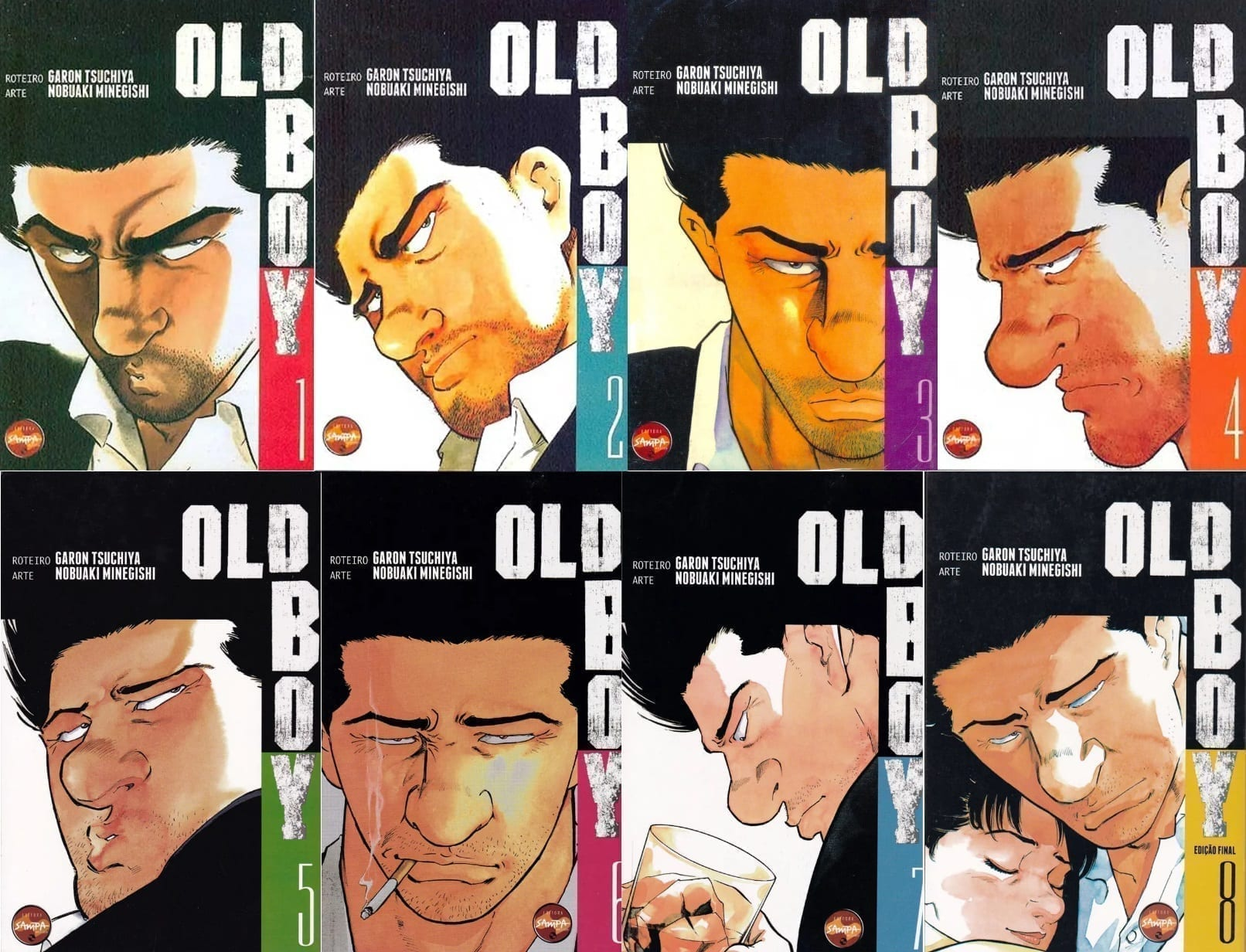 Capa: Old Boy - Completo 1 a 8 0