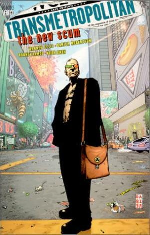 Capa: Transmetropolitan (TP Importado) - The New Scum 4