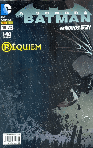 Capa: A Sombra do Batman - 2ª Série (Panini) 18
