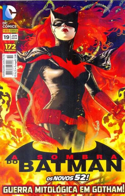 Capa: A Sombra do Batman - 2ª Série (Panini) 19