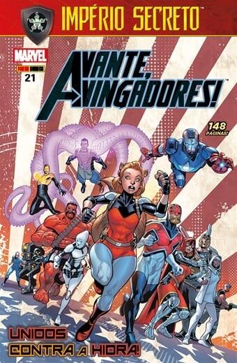 Capa: Avante, Vingadores! - 3ª Série 21