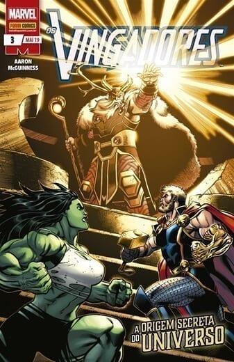 Capa: Os Vingadores - 3ª Série 3