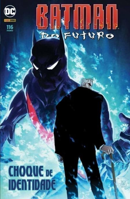 Capa: Batman do Futuro: Choque de Identidade