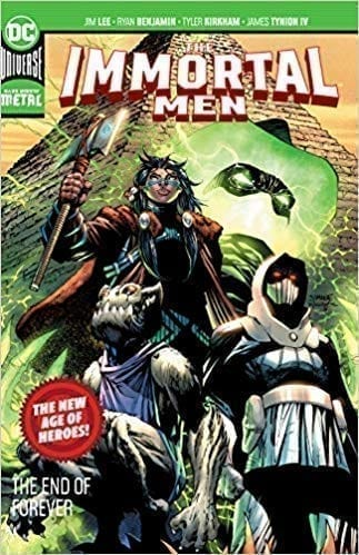 Capa: The Immortal Men: The End of Forever (New Age of Heroes / TP Importado) 1