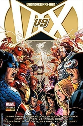 Capa: Marvel Deluxe: Vingadores Vs. X-Men