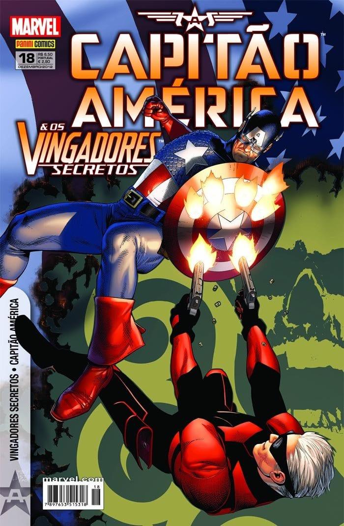 Capa: Capitão América & Os Vingadores Secretos 18
