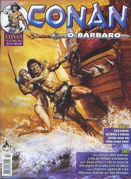 Capa: Conan, O Bárbaro (Mythos) 37