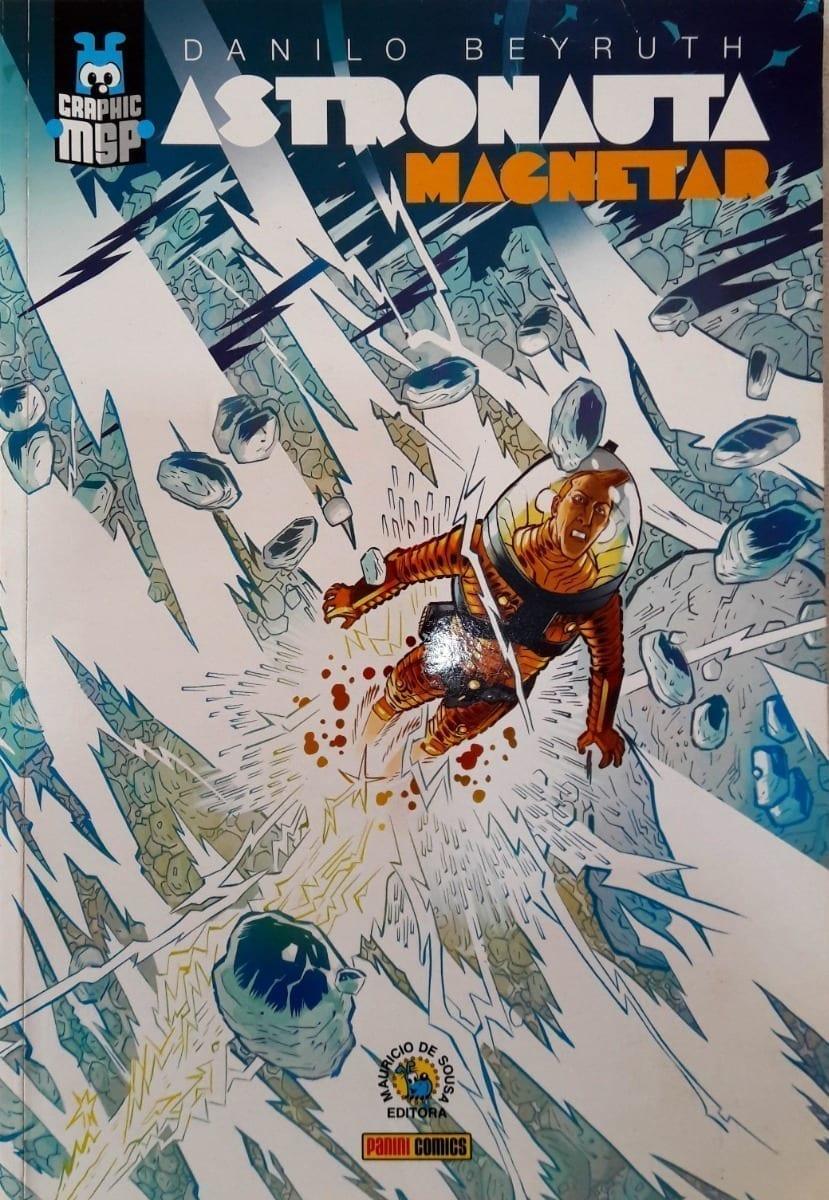 Capa: Graphic MSP (Capa Cartonada) - Astronauta: Magnetar 1