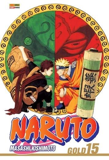 Capa: Naruto Gold 15