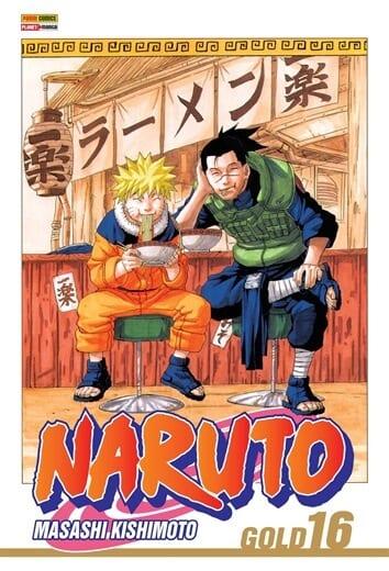 Capa: Naruto Gold 16