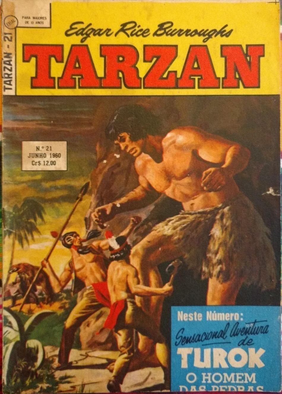 Capa: Tarzan - 2ª Série (Ebal) 21