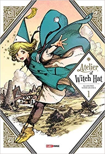 Capa: Atelier Of Witch Hat 1