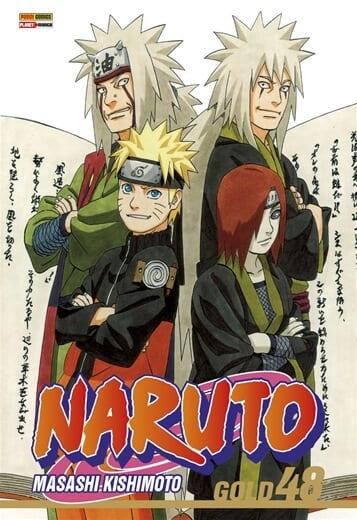 Capa: Naruto Gold 48