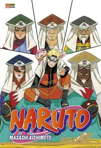 Capa: Naruto Gold 49