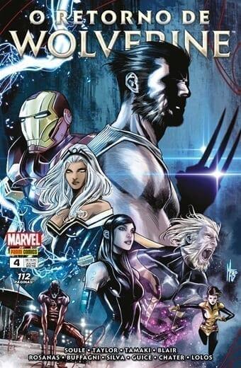 Capa: O Retorno de Wolverine 4