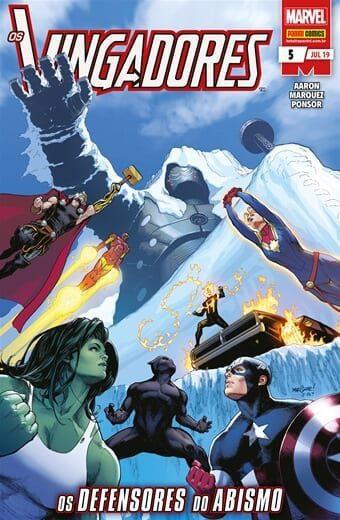 Capa: Os Vingadores - 3ª Série 5