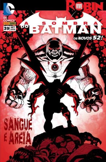 Capa: A Sombra do Batman - 2ª Série (Panini) 39