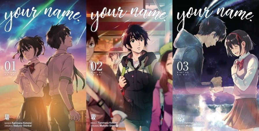 Capa: Your Name (Minissérie) - Completo #1-3 0
