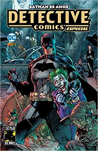 Capa: Batman 80 Anos: Detective Comics Especial