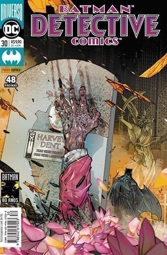 Capa: Batman Detective Comics - Universo DC Renascimento 30