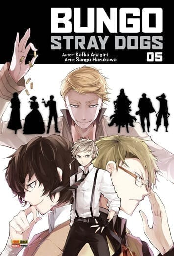 Capa: Bungo Stray Dogs 5