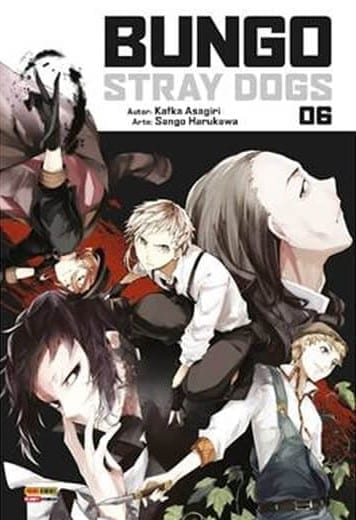 Capa: Bungo Stray Dogs 6